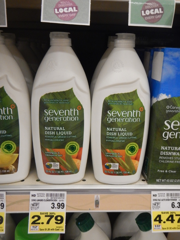Seventh Generation Dish Soap on Sale at QFC