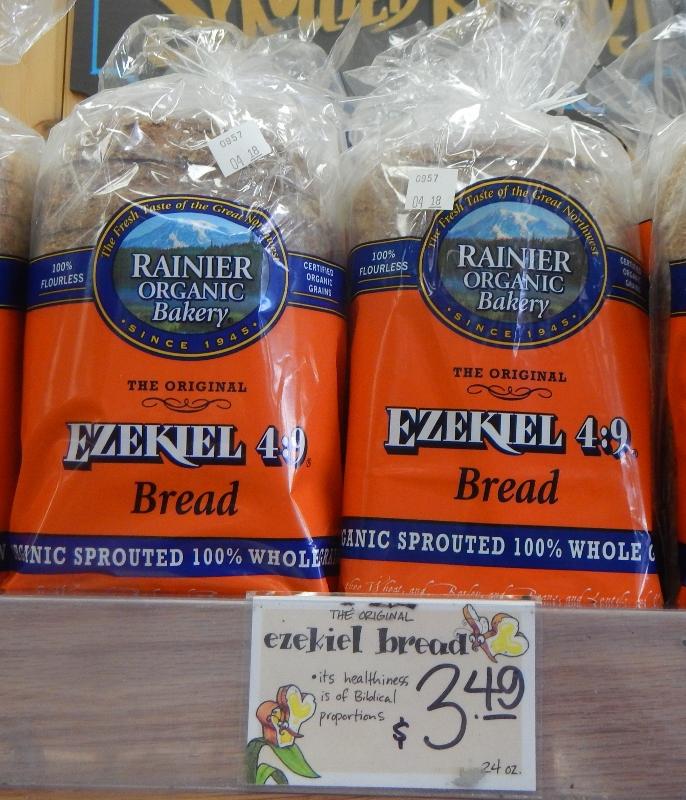 Ezekial Bread at Trader Joe's