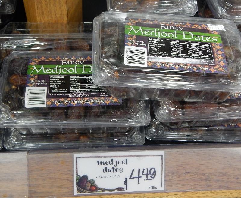 Fancy Medjool Dates at Trader Joes