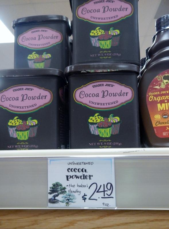 Cocoa Powder at Trader Joe's