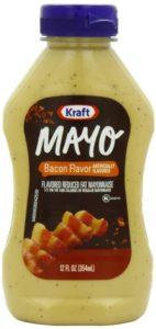 Kraft Mayo Mayonnaise Bottle, Bacon, 12 Ounce