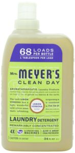 Mrs. Meyer's Clean Day Liquid Laundry Detergent, Lemon Verbena , 34 Fluid Ounce