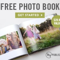 MyPublisher: FREE 20-Page Photo Book (or other options via Groupon)