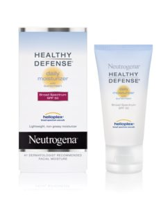 Neutrogena Healthy Defense Daily Moisturizer with Helioplex, SPF 50, 1.7 Ounce (Pack of 2)
