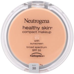 Neutrogena Healthy Skin Compact Makeup SPF 55 with Helioplex, Buff 30, 0.35 Ounce