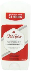 Old Spice High Endurance, Original Scent Men's Anti-Perspirant & Deodorant 3 Oz (Pack of 6)