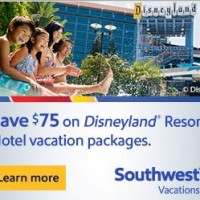 Southwest Vacations: Save up to $160 on Disney World or Disneyland Vacation Packages