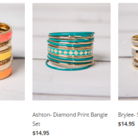Cents of Style: Fashion Bangles for $5.95 + free shipping (4/3 only)
