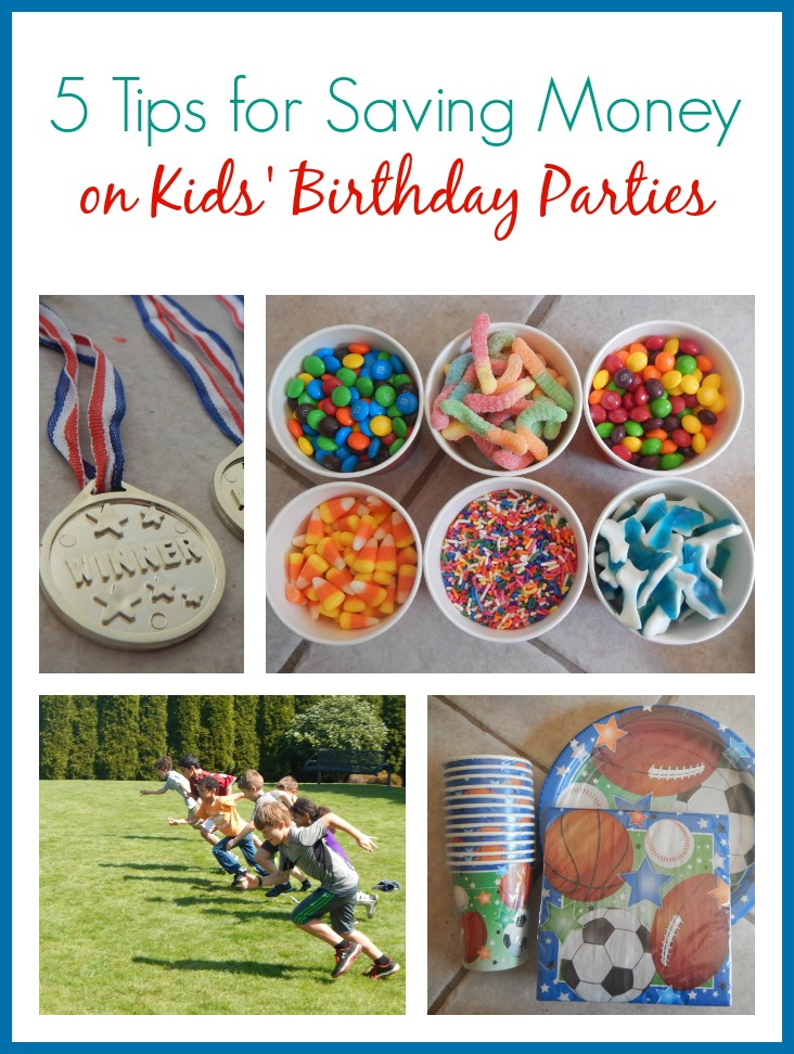 5 Tips For Saving Money On Kids Birthday Parties