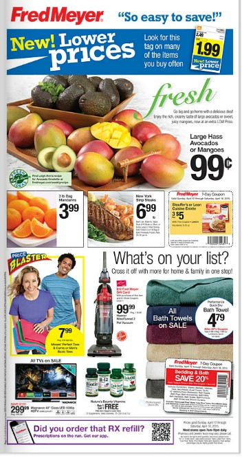Fred Meyer Ad 4/12 - 4/18