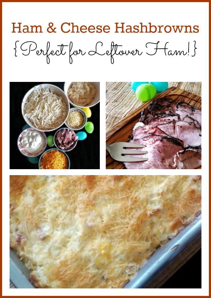 Ham & Cheese Hashbrowns Recipe - Perfect for Leftover Ham!