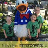 13 Tips to Avoid Meltdowns at Disneyland