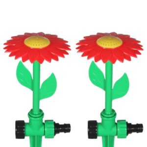 2 Flower-Shaped Sprinklers