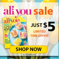 *LAST DAY* All You Magazine Subscription for $5/Year