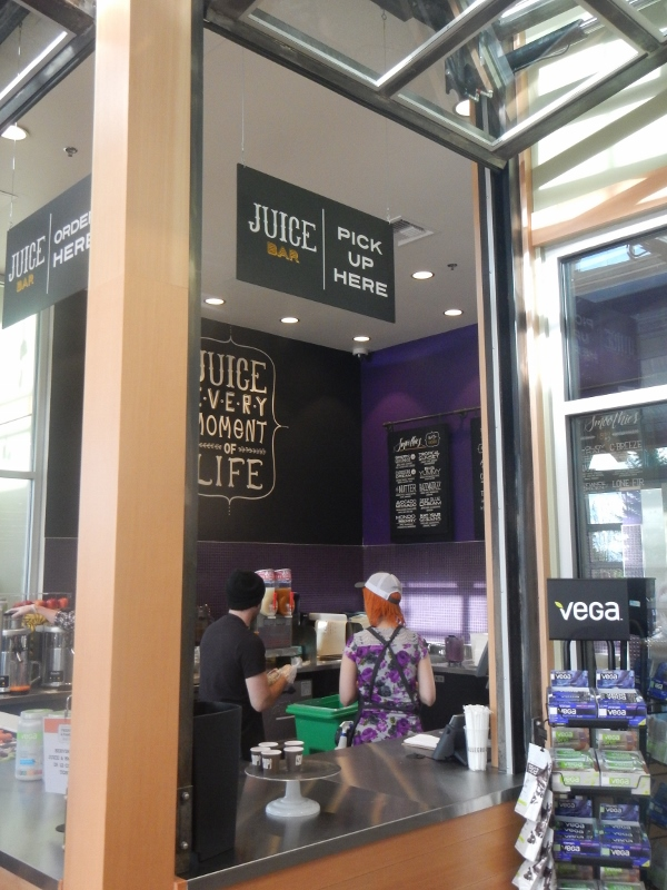 Whole foods market chambers bay tour grand opening may 7th for Whole food juice bar menu