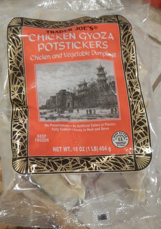 Trader Joe's Chicken Potstickers