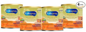 Enfagrow Toddler Transitions, 20 Ounce Powder for toddlers 9-18 months (Pack of 4)