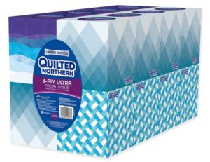 Quilted Northern Ultra Facial Tissue Cube (16 Boxes)