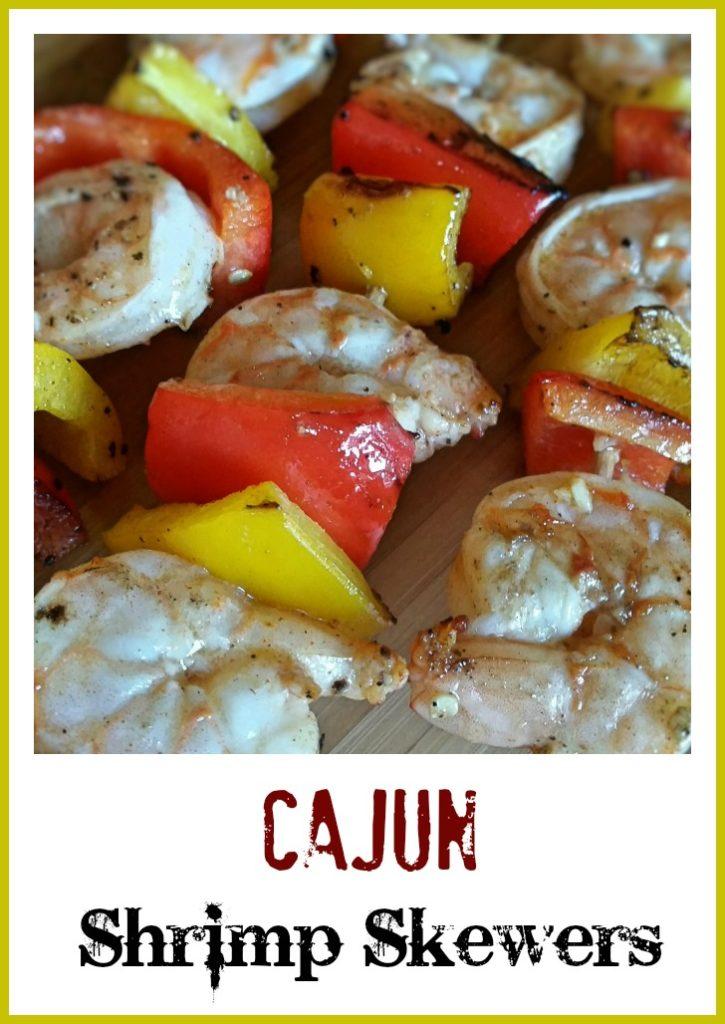 Easy Cajun Shrimp Skewers