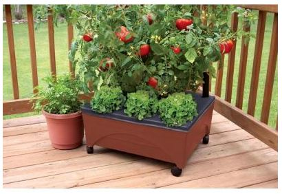 Home Depot City Pickers Raised Garden Bed Kit For