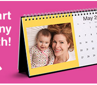 Walgreens: FREE Personalized Desktop Calendar (just pay $5.95 shipping)