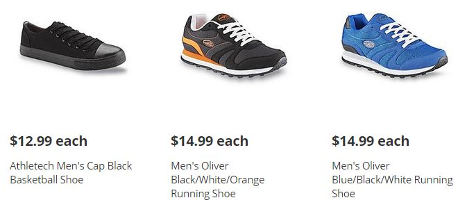 men's shoes kmart