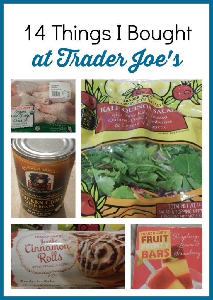 14 Things I bought at Trader Joe's