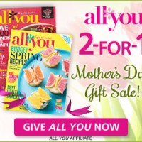 All You Magazine: BOGO Subscriptions for Mother's Day