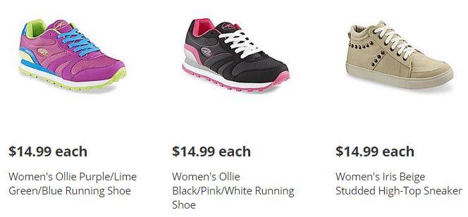 womens black shoes kmart
