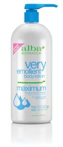 Alba Botanica Very Emollient Body Lotion, Maximum, 32 Ounce
