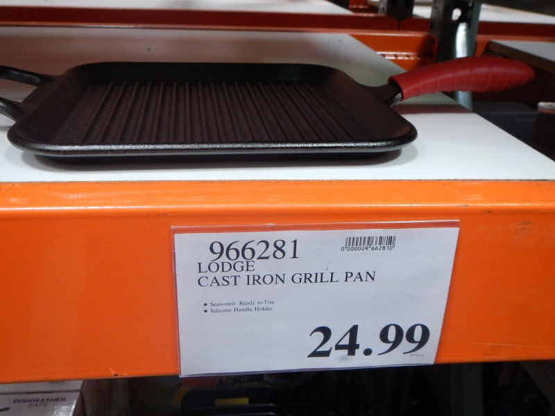 Lodge Cast Iron Grill Pan at Costco