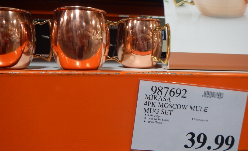 Copper mugs at Costco
