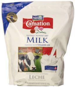 Nestle Carnation Instant Nonfat Dry Milk, 25.6-Ounce