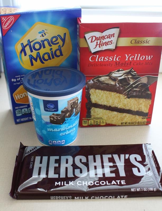 Smores Cupcakes Ingredients