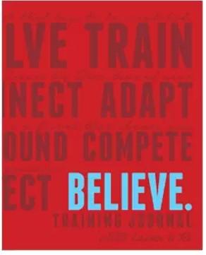 Believe Running Journal