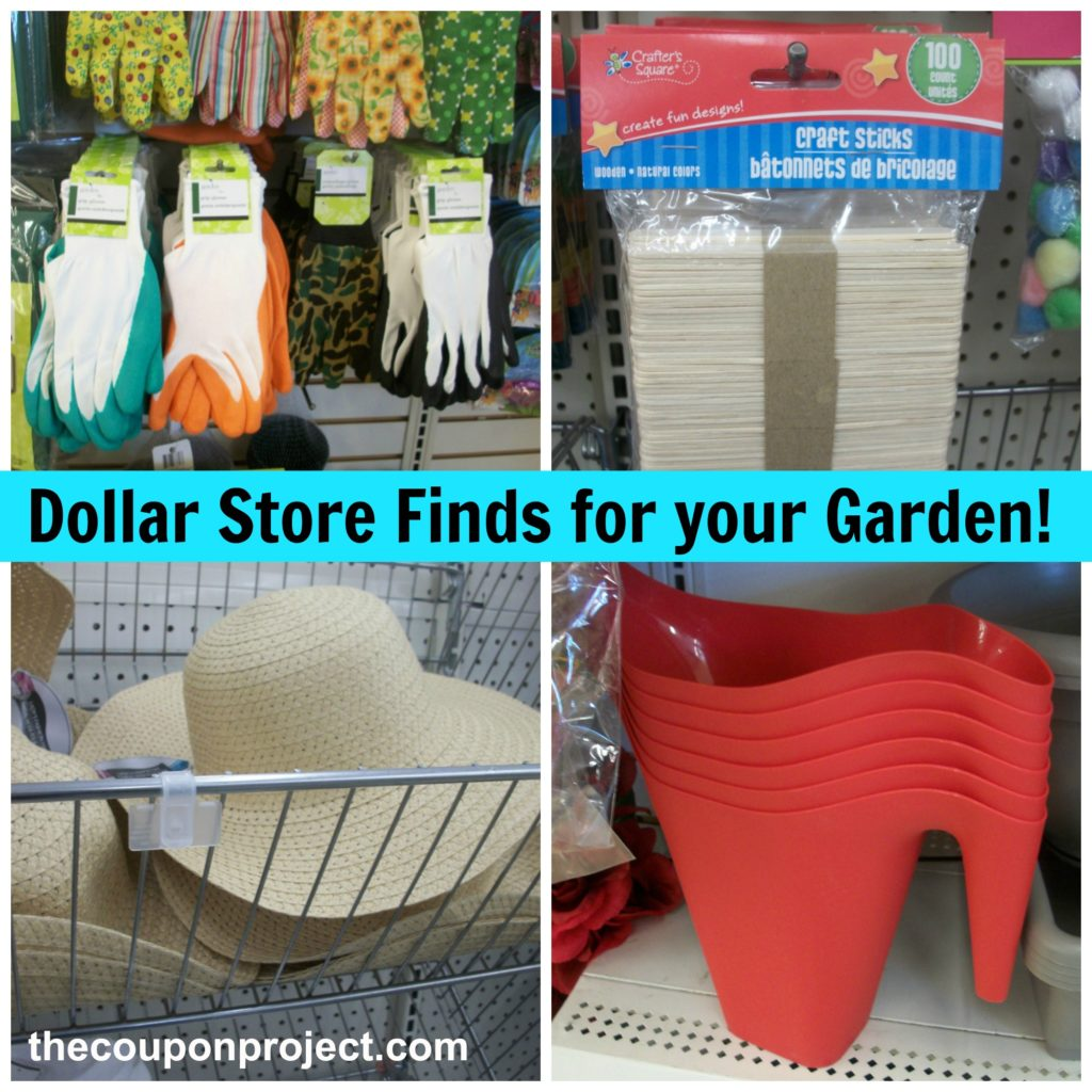 Dollar Store Finds for your Garden