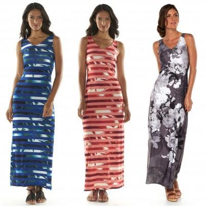 Apt 9 maxi dress for plus