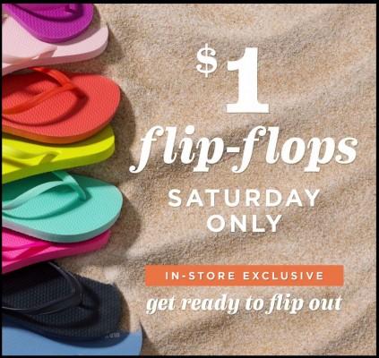 Reminder old navy 1 flip flop sale is june 20th free flip flops reminder old navy 1 flip flop sale is june 20th free flip flops for the first 50 customers publicscrutiny Gallery
