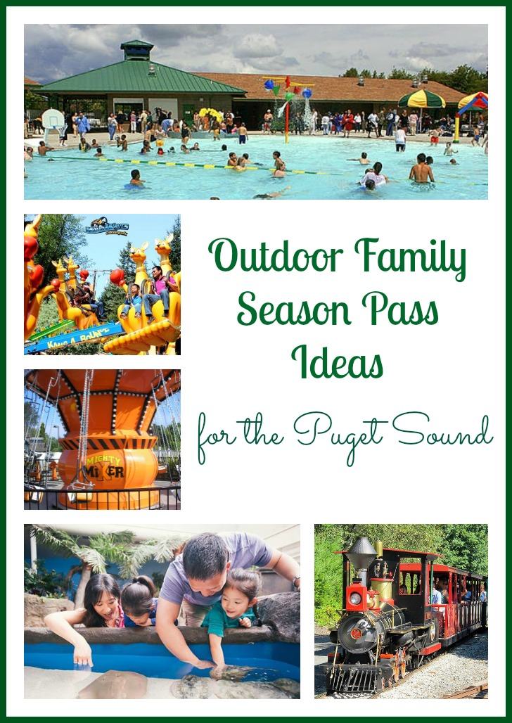 Outdoor Family Season Pass Ideas for the Puget Sound - plus ways to save!