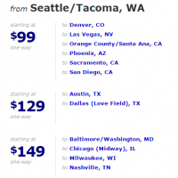 Southwest Flash Sale: Flights as low as $49 (one-way)