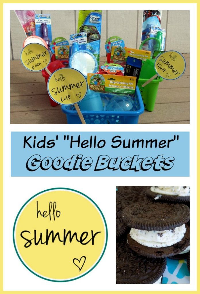 Kids' Hello Summer Goodie Buckets