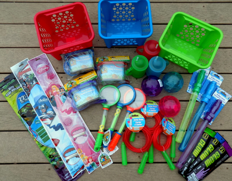 Summer Fun Basket Ideas