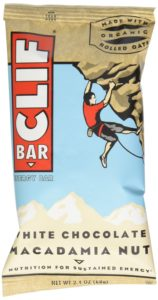 CLIF ENERGY BAR - White Chocolate Macadamia - (2.4 oz, 12 Count)
