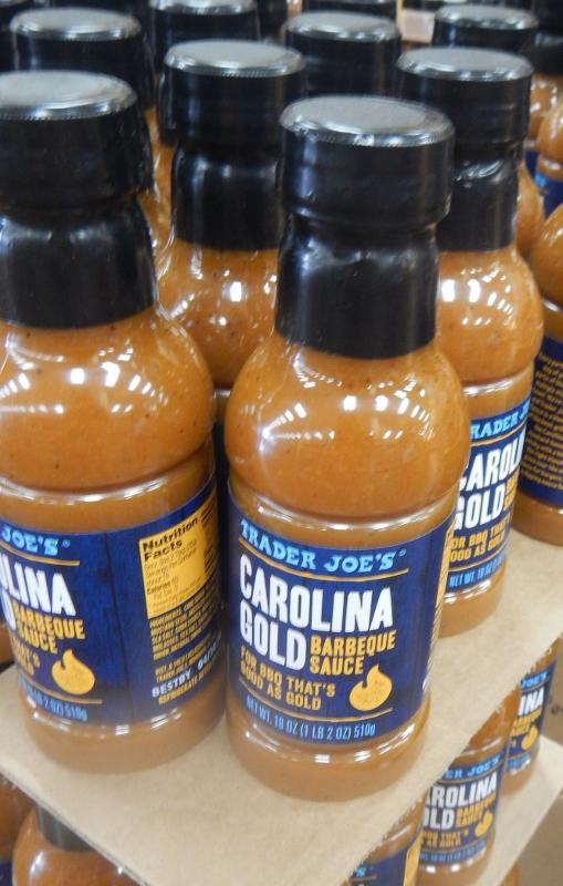 Carolina Gold Barbecue Sauce at Trader Joe's