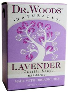 Dr. Woods Natural Soap, Lavender, 5.25 Ounce