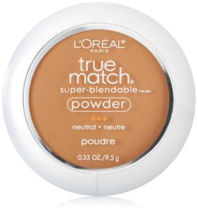 L'Oreal Paris True Match Powder, Classic Tan, 0.33 Ounces