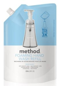 Method Foaming Hand Wash Refill, Sweet Water, 28 Ounce (Pack of 6)
