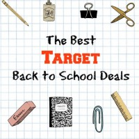 The Best Target Back to School Deals {updated weekly}