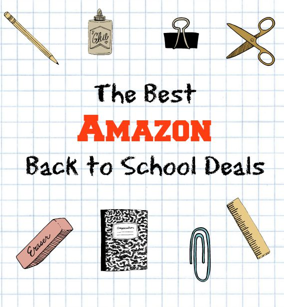 The Best Amazon Back to School Deals {updated weekly!}