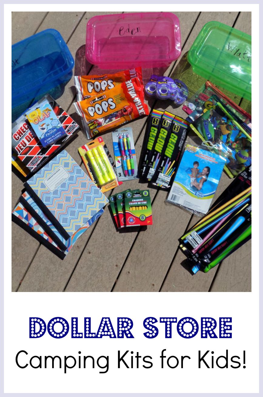 dollar store crafts for kids diy dollar camping kits for 12124